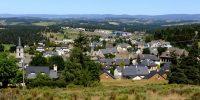 Aumont-Aubrac, Village étape