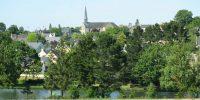 Crevin, Village étape