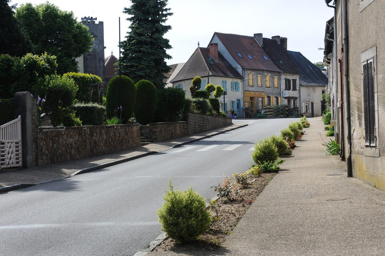 Magnac Bourg Village étape