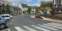 Naucelle, Village étape