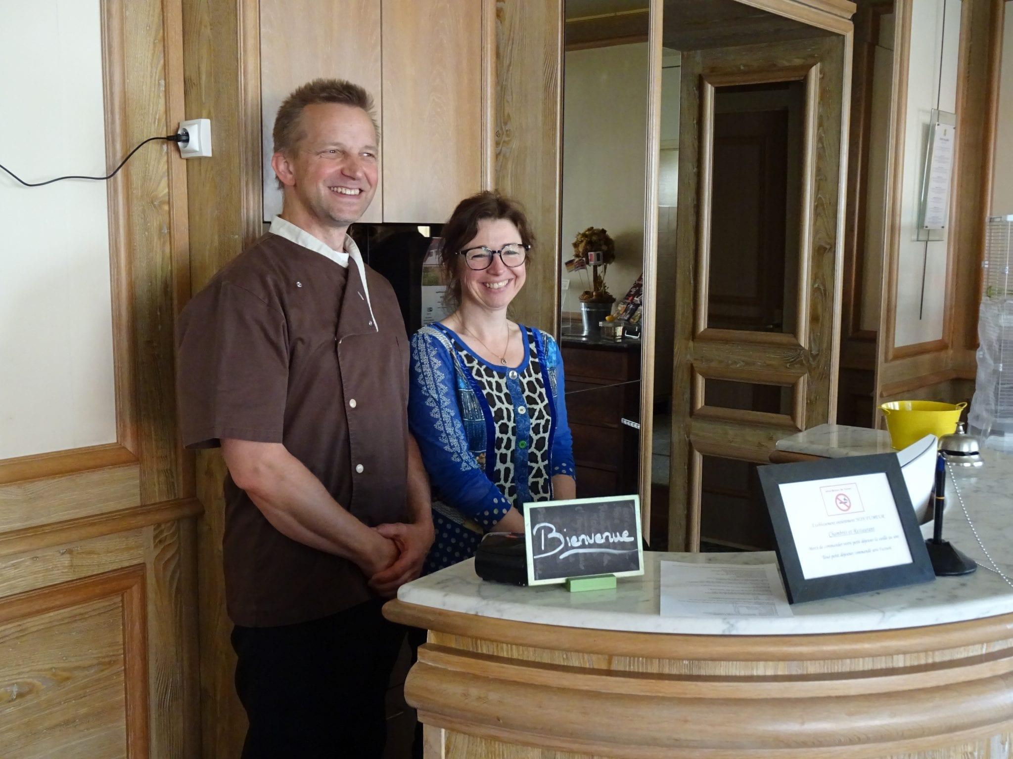 Hôtel Galland - Sylvain et Véronique Huel