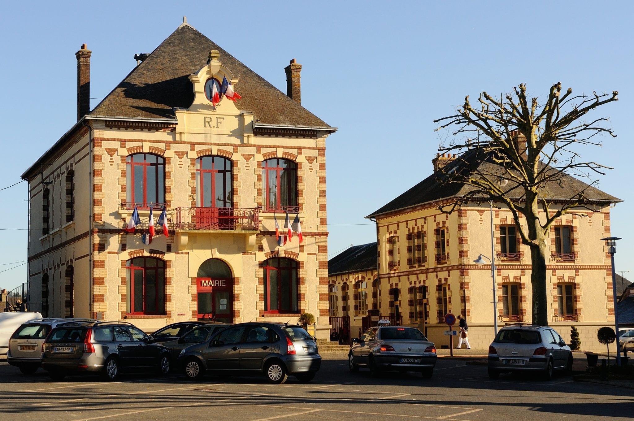 Tourouvre village étape