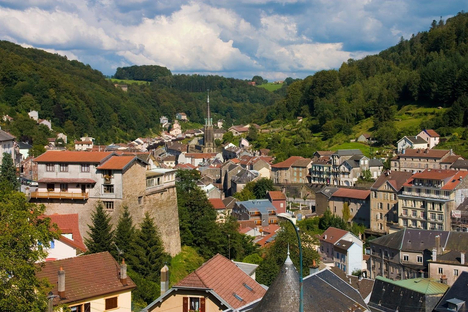 Road trip au départ de Plombières-les-Bains
