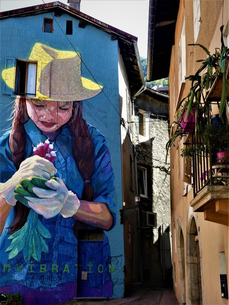 Moûtiers Villages étapes street art
