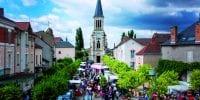 Varennes sur Allier Village étape