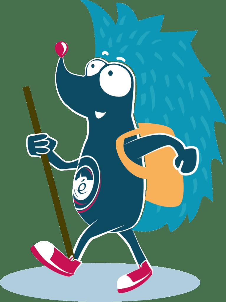Philémon mascotte villages étapes